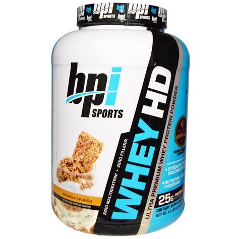 Bpi Protein bpi sports whey hd ultra premium whey protein powder