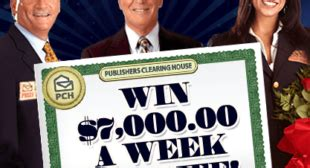 Pch Win 7000 A Week For Life - publishers clearing house win 7 000 a week for life sweepstakes den