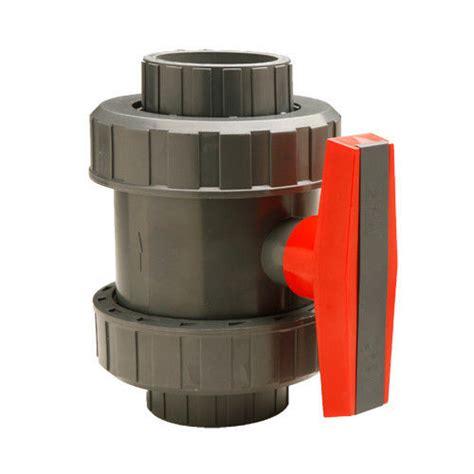 Valve Pvc 3 4 Merk Kdj 3 4 quot gray pvc true union valve schedule 40 80 threaded and slip weld ebay