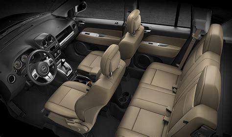 jeep compass interior 2016 jeep compass comfortable interior features