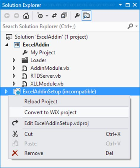 visual studio express 2013 medo s home page vdproj to wix converter