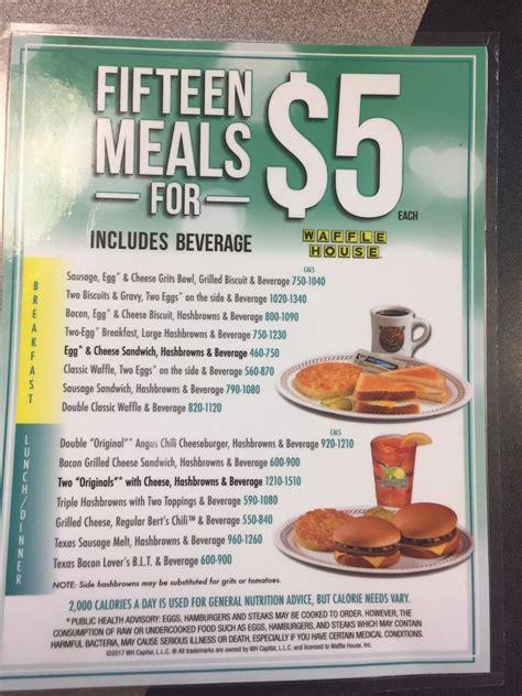 Waffle House 5 Dollar Menu by Waffle House 14 Photos American New 3309