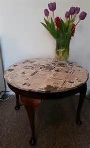 Coffee Table Decoupage Decoupage Coffee Table Home Decor