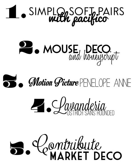 typography combinations favorite free font combos future mrs font combos and fonts