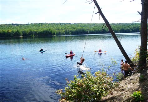 lake rope swing 10 reasons to choose the lake over the ocean