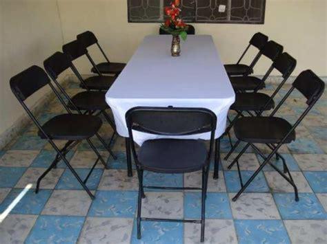 renta de mesas y sillas para fiestas y eventos en arizona renta silla mesas clasf