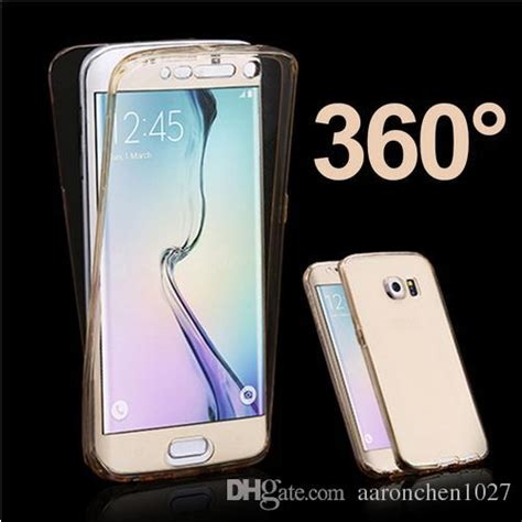 Samsung A5 2016 Clear Cover 360 Degree clear cover 360 degree for samsung galaxy s3 s4 s5 s6
