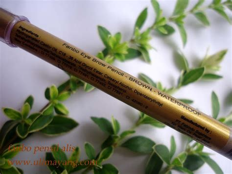 Pensil Alis Purbasari Coklat uli mayang review viva wardah dan fanbo pensil alis coklat eye brown pencil