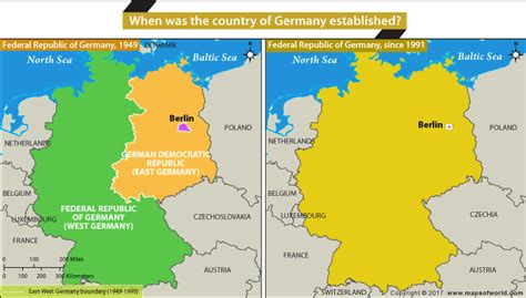 map of germany today history and geography faqs and answers