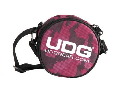 Udg Digi Headphone Bag Pink udg headphone bag digital camo pink djkit