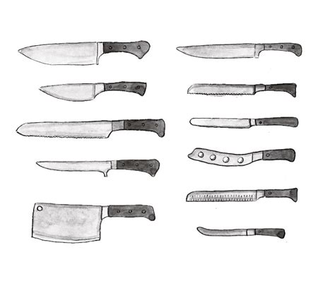 choosing kitchen knives kitchen knives types choosing the right knife
