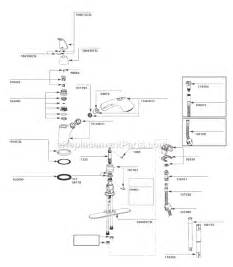 Kitchen Faucet Repair Moen moen 7560csl parts list and diagram 3 10 to 1 11