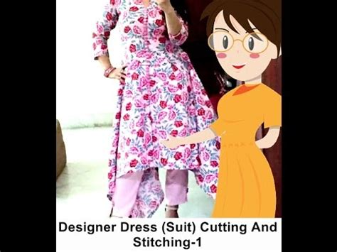 dress design and cutting designer dress suit cutting and stitching 1 tailoring
