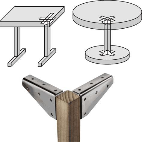 supporti per tavoli supporto per gamba tavolo