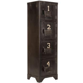 Antique Black Metal Storage Locker   Hobby Lobby   1040674