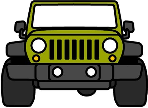cartoon jeep front 1000 ideas about jeep wrangler soft top on pinterest