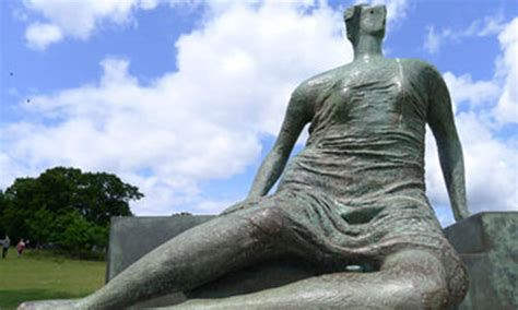 draped seated woman from henry moore to egyptian relics britain isn t