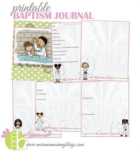 baptism on pinterest baptisms baptism gifts and baptism invitations printable baptism journal for girls mormon mommy