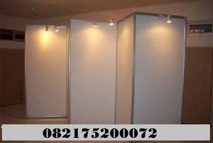 Jual Dan Sewa Fitting Room 12 panel photo pameran zigzag 5 meter jual dan sewa partisi
