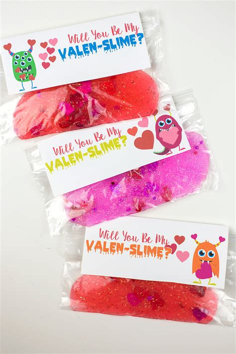 valentines for will you be my valen slime valentines skip to my lou