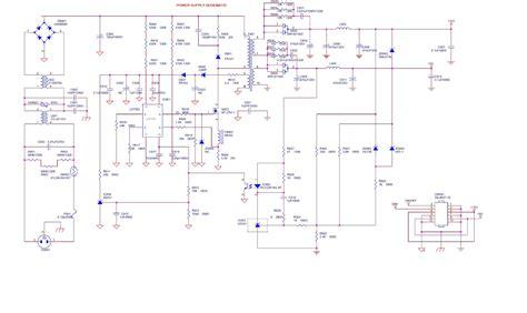 monitor circuit diagram hp vs19e aoc 19 inch lcd monitor power supply