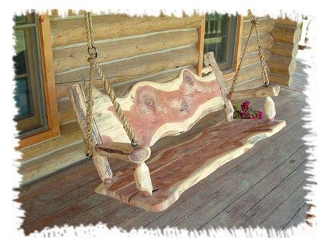 romantic log swing 171 the log builders