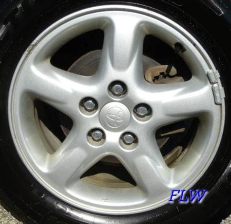 Toyota Rav4 Wheels 2002 Toyota Rav4 Oem Factory Wheels And Rims