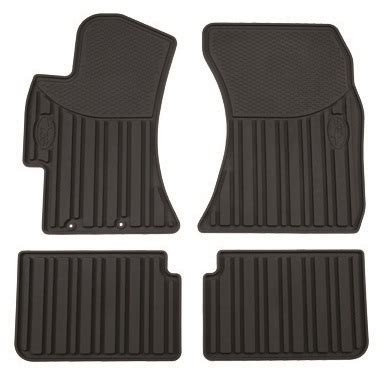 subaru forester floor mats all weather rubber slush