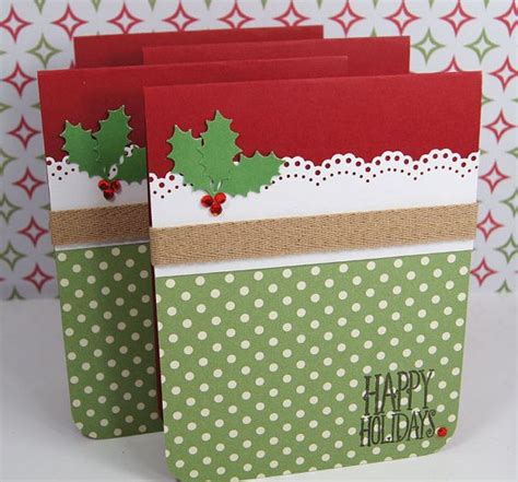 Handmade For The Holidays - 23 creative ways to make cards pretty designs