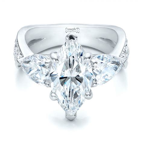 custom marquise engagement ring 101227