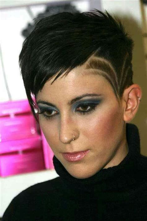 women hairstyles shaved sides shaved short haircuts for women incredible hair