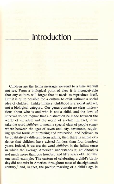 Postman Essay by Lance Strate S Time Passing Children Are The Living Messages We Send To A Time We Will Not See
