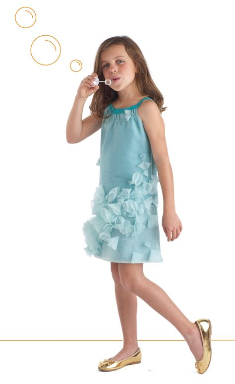 06hem Govinza turquoise organza badminton dress in sew beautiful oliver s