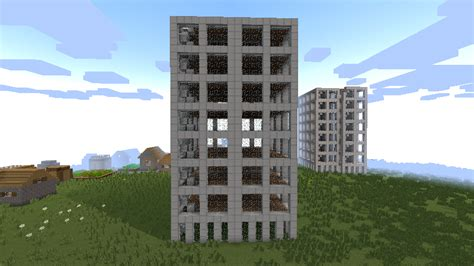 Photo Immeuble Moderne by Minecraft Structure Minecraft Immeuble Moderne