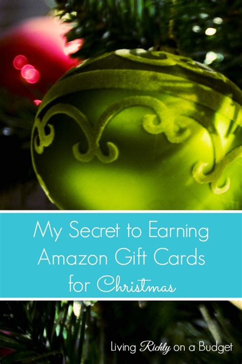 Earning Amazon Gift Cards - my secret to earning amazon gift cards for christmas