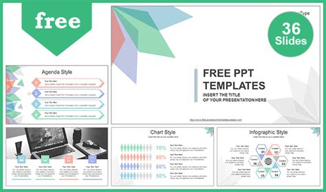Abstract Leaves Powerpoint Template Best Powerpoint Templates Website