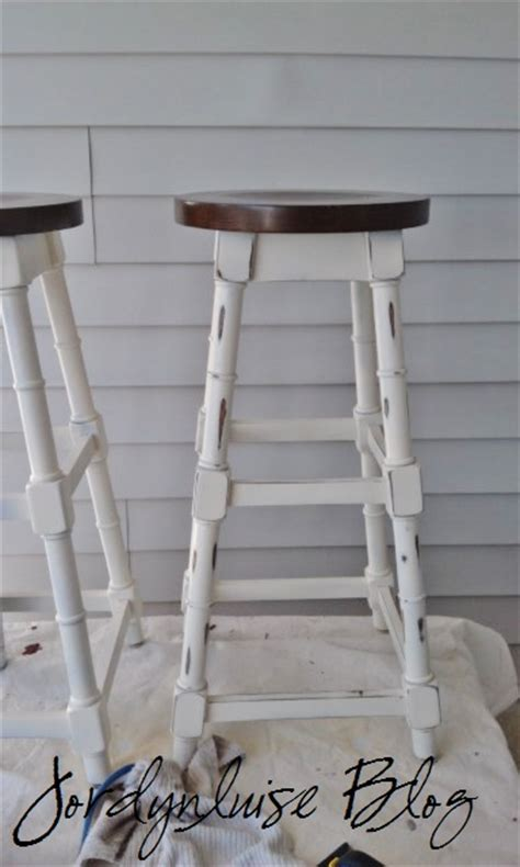 Chic Bar Stools by Jl Designs Shabby Chic Bar Stools