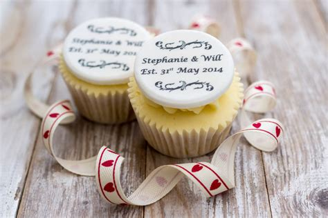Wedding Anniversary Cupcakes by Wedding Anniversary Cupcake Decorations By Just Bake