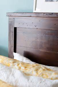 Wood Headboard Diy White Reclaimed Wood Headboard Diy Projects