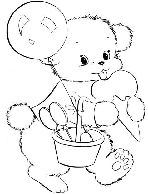 ice bear coloring page cartoon baby polar bear ice bear coloring page