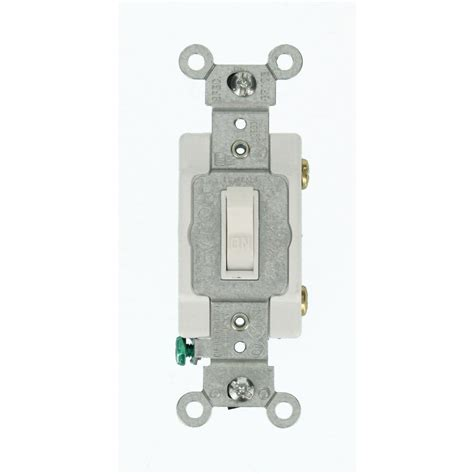 Commercial Grade Kitchen Faucets by Leviton 20 Amp Commercial Grade Single Pole Toggle Switch White 54521 2w The Home Depot