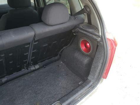 aveo hatch rear speaker mod