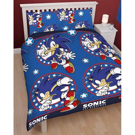 sonic the hedgehog bedroom set sonic the hedgehog sprint double duvet cover official new