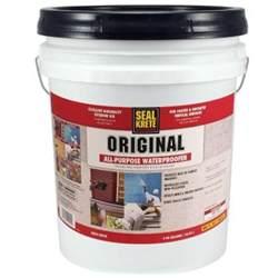 concrete sealer home depot seal krete 5 gal original waterproofing sealer 100005