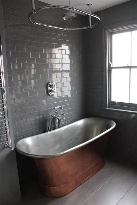 ikea copper floor l our copper bath is the of this bathroom tub from the