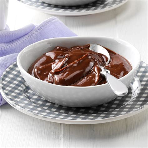 Light Creamy Chocolate Pudding Recipe Taste Of Home Light Pudding Recipe