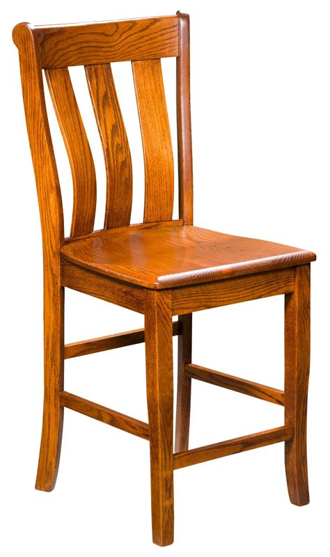 vancouver stationary bar stool from dutchcrafters amish