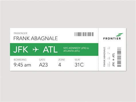 Boarding Card Template by 20 Beautiful Boarding Pass Designs Showcase Hongkiat