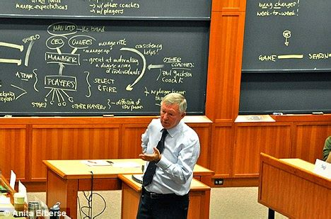 Sports Mba Faculty by Sir Alex Ferguson Says He Travelled To Harvard To Help
