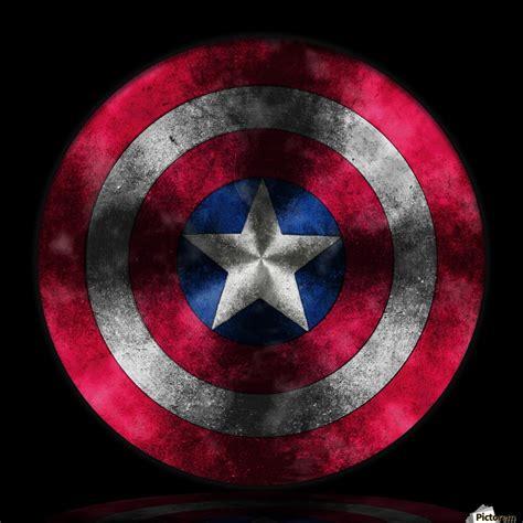 Best Kitchen Paint Colors Captain America Shield Digital Painting Georgeta Blanaru